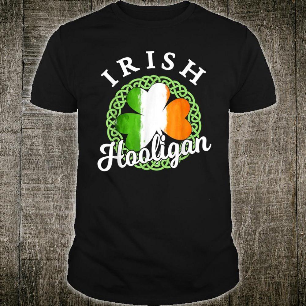 St Patricks Day Irish Hooligan Shirt