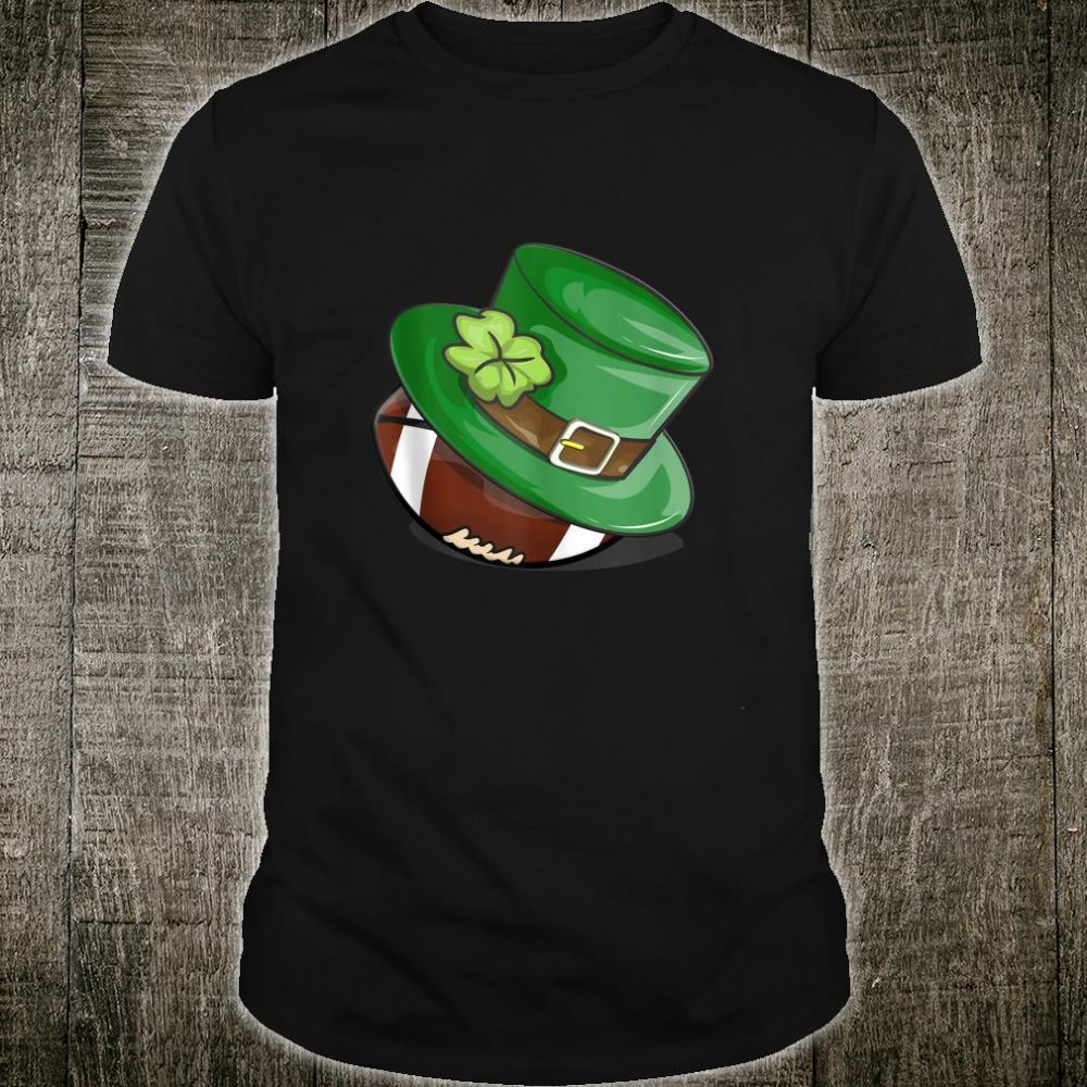 St. Patrick's Day Football Leprechaun Hat Shirt