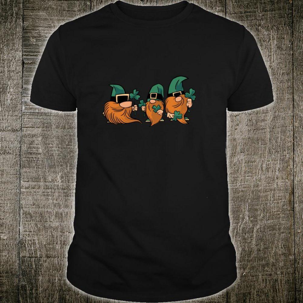 St. Patricks Day Leprechaun Gnomes Shamrock Lucky Eire Pub Shirt