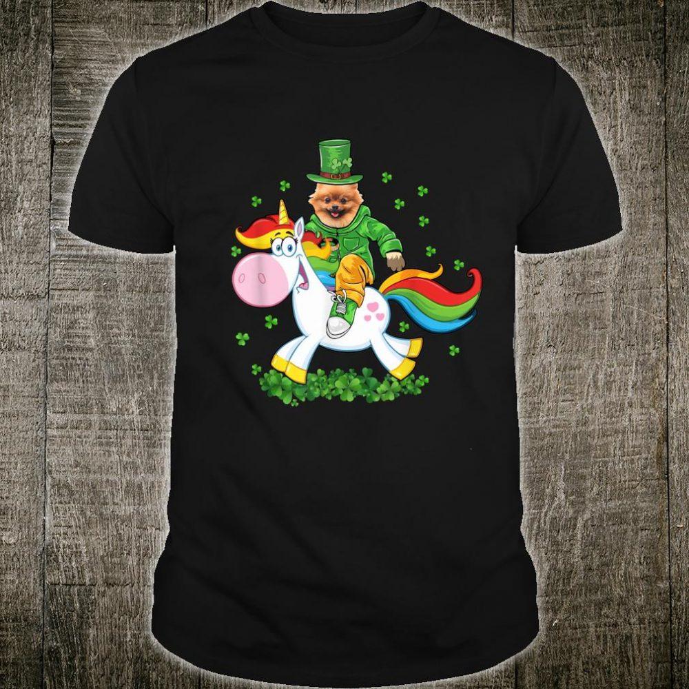St. Patrick's Day Pomeranian Dog St Patrick's Day Shirt
