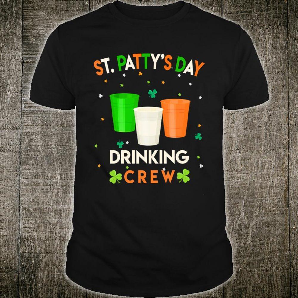 St.Patty's Day Drinking Crew St. Patricks Day Drinking Shirt