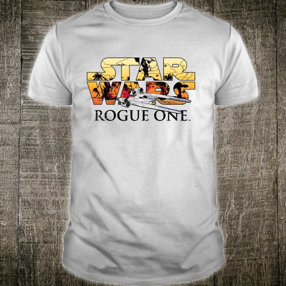 Star Wars Rogue One UWing Logo Shirt