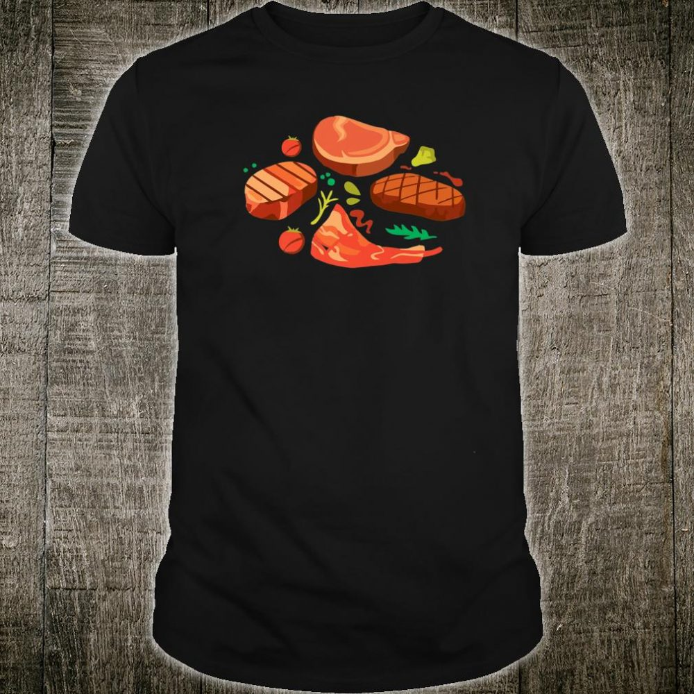 Steak grill meat eater bbq grilling Shirt