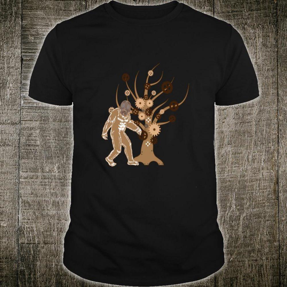 Steampunk Victorian Era Bigfoot Shirt