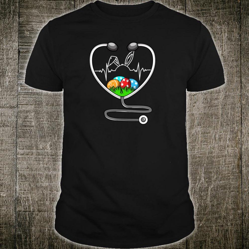 Stethoscope Nurse Doctor Easter Cute RN CNA Shirt