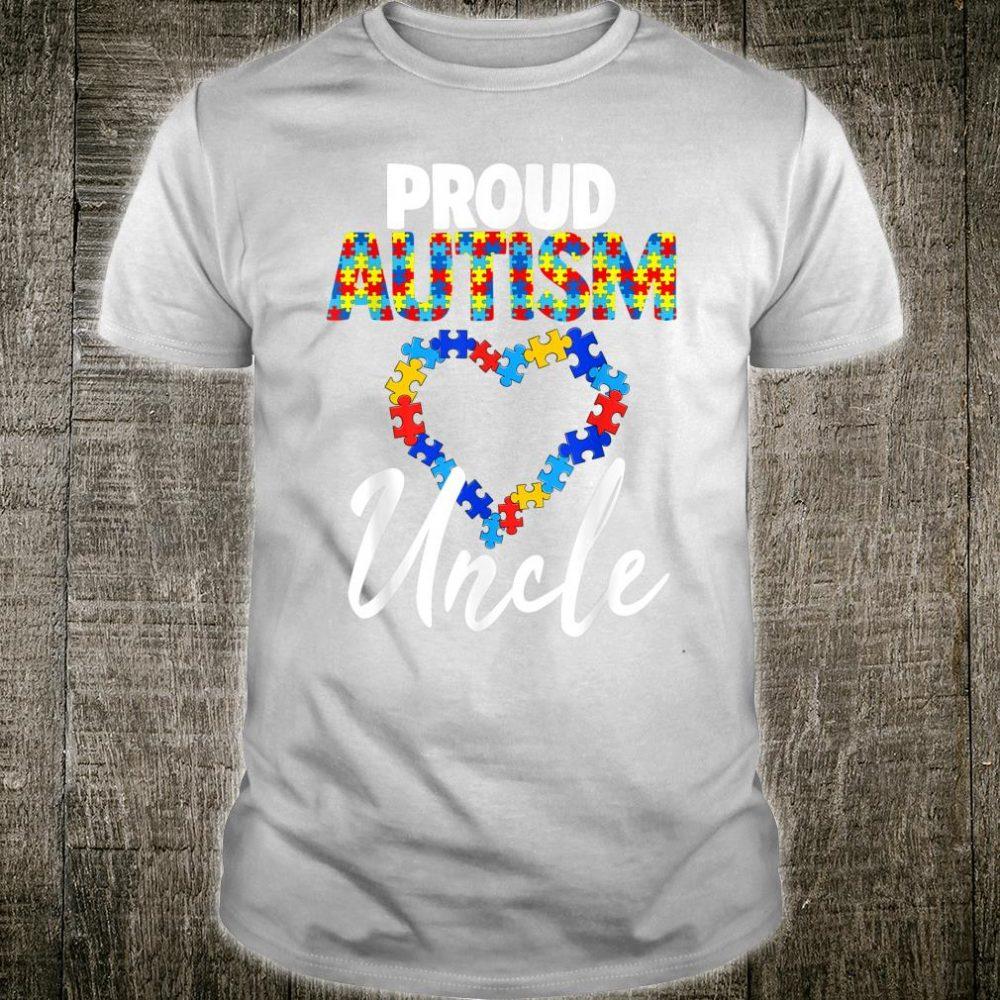 Stolze Autismus Onkel Shirt Autismus Awareness Geschenk Shirt
