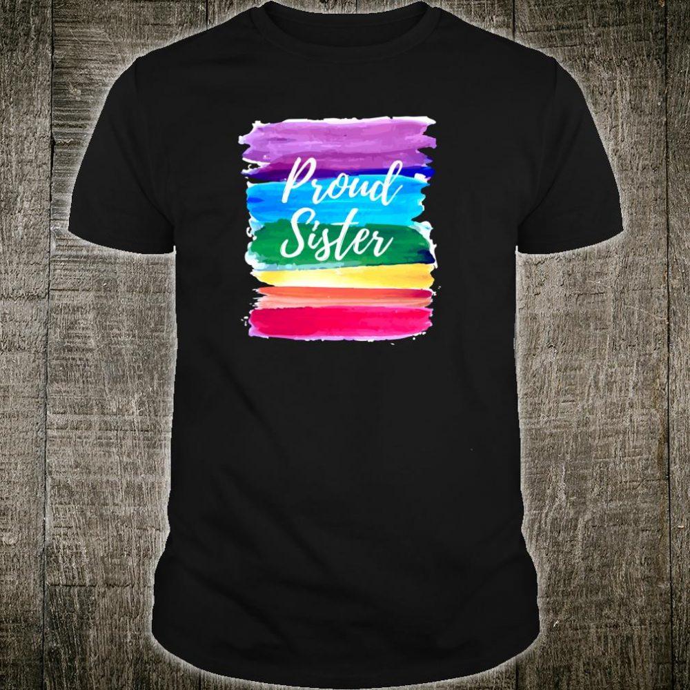 Stolze Schwester Homosexuell Lesben Stolz Shirt