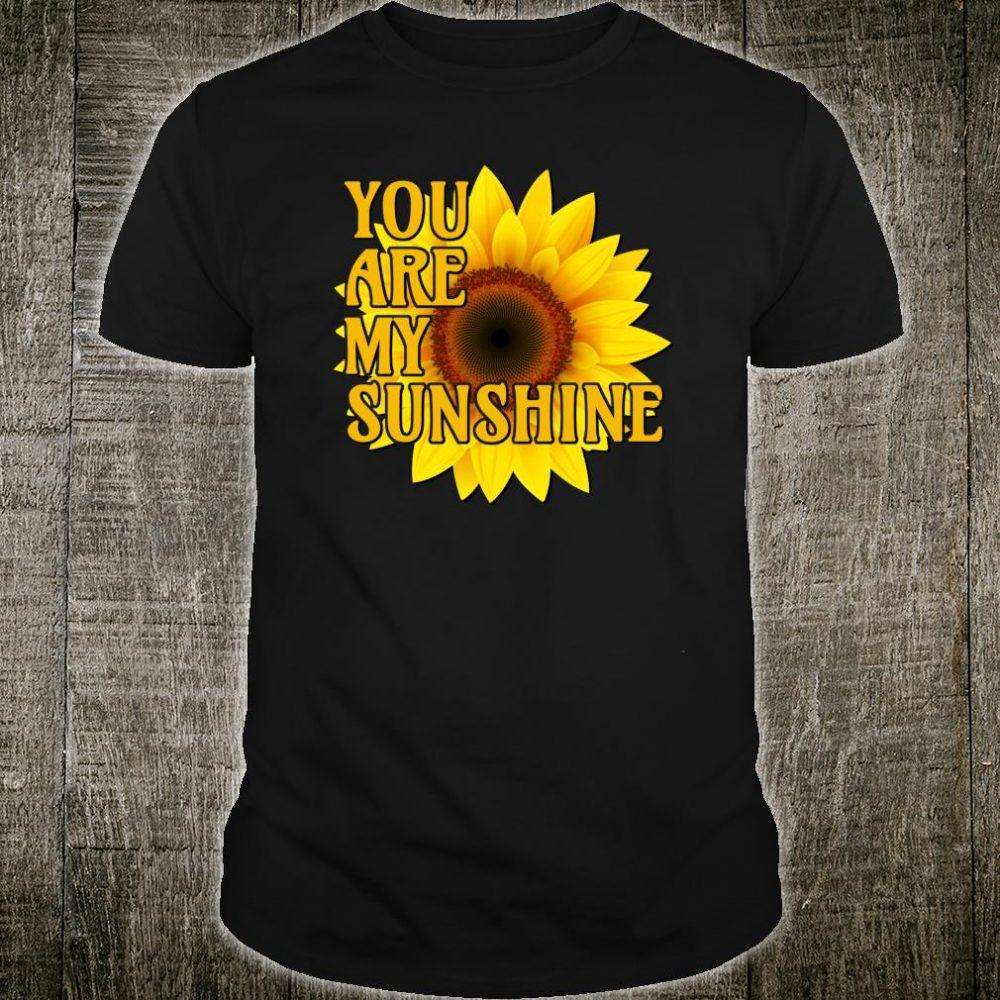 Sunflower Yellow Flower Girasol Sunshine Shirt