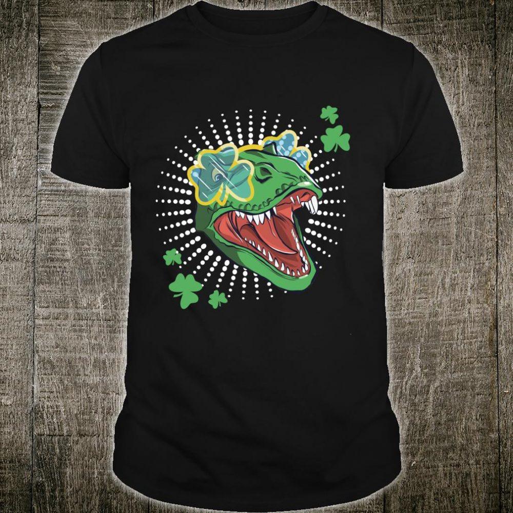 T Rex St. Pat Dinosaur, Happy Patrick's Day Dino Shirt