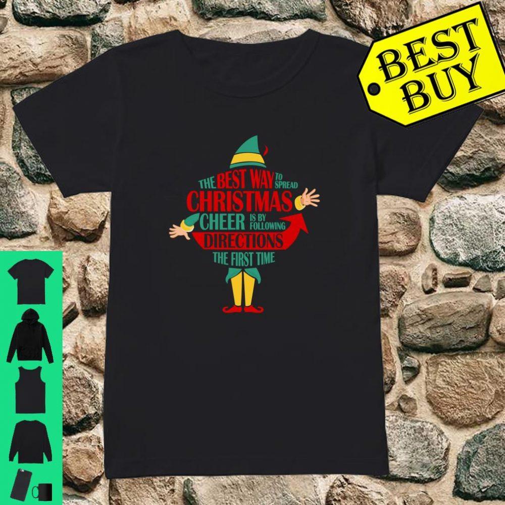 Teacher Christmas Cheer Teacher Gift Shirt ladies tee