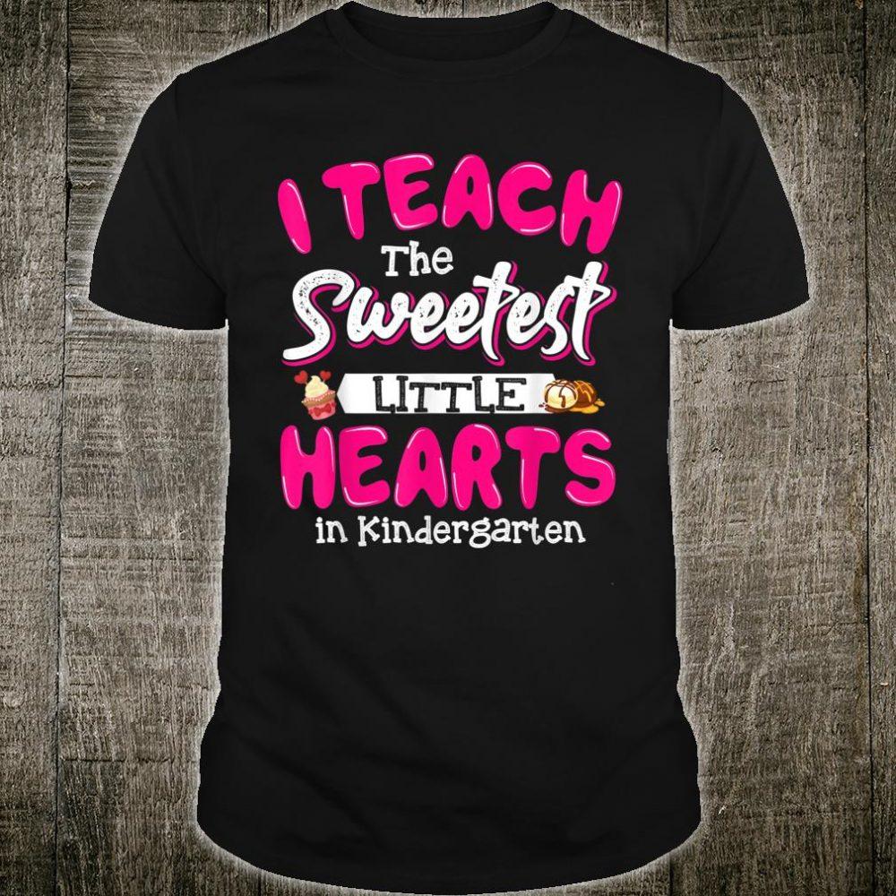 Teacher Sweetheart Kindergarten Teacher Preschool Education Shirt