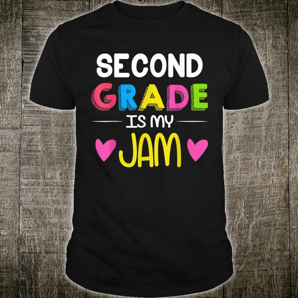 Teachers Second Grade Is My Jam Shirt