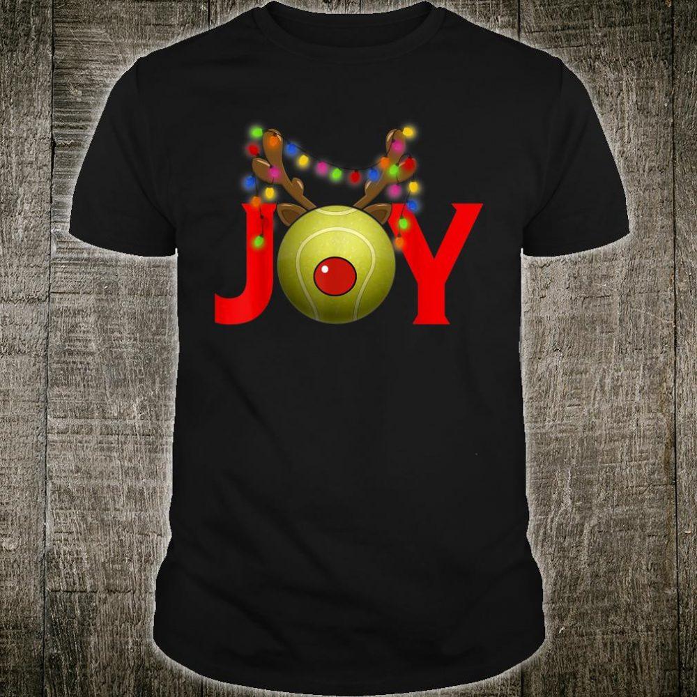 Tennis Joy Reindeer Christmas Party Shirt