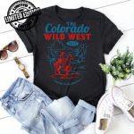 The Colorado Wild West Classic Colorado Retro Vintage shirt