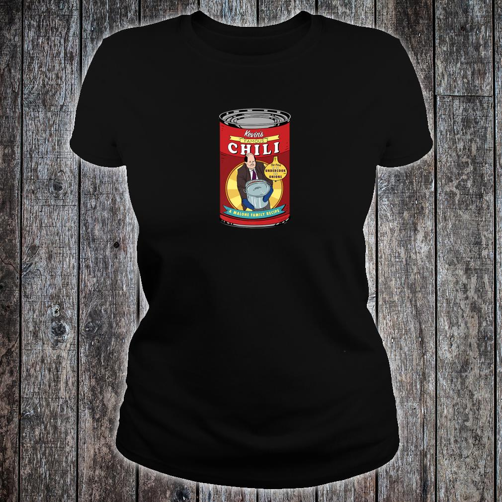 The Office Kevin's Famous Chili Shirt ladies tee