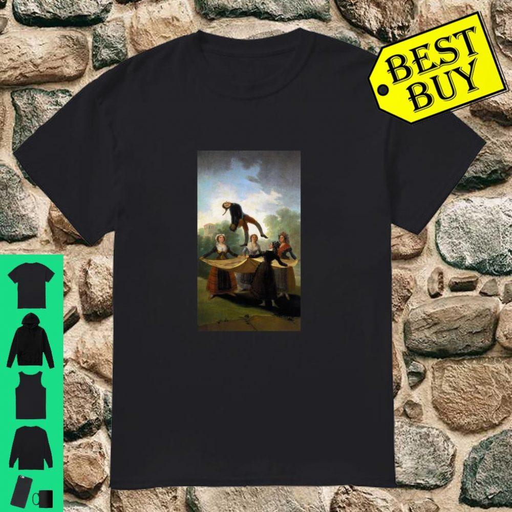 The Straw Manikin Painting by Francisco Goya Shirt