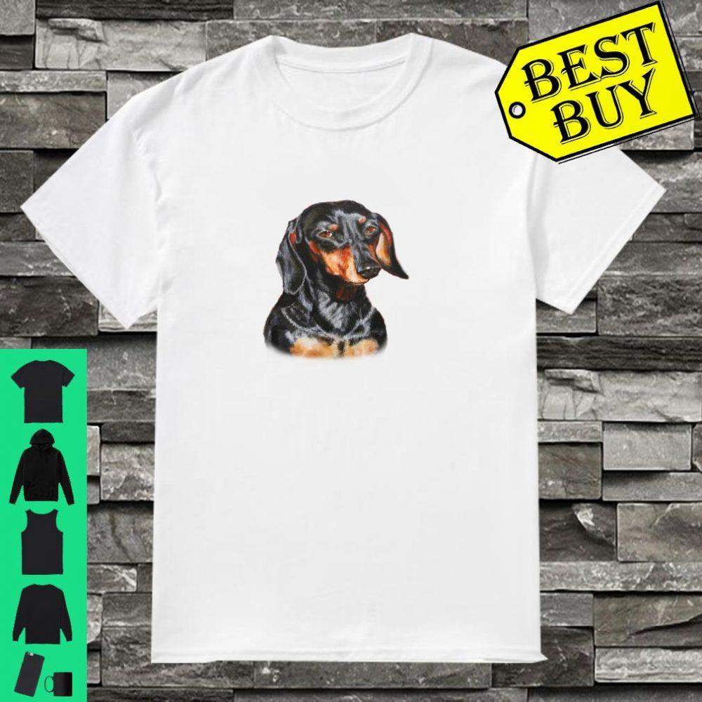 The masked rottweiler Dramatic, vintage, cute, dog Shirt