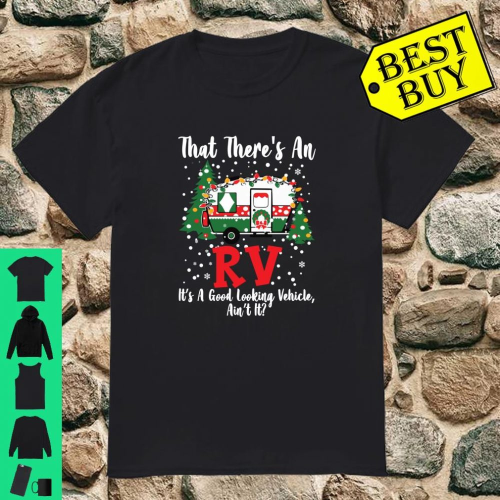 There_s An RV Christmas Vacation Xmas Gift Shirt