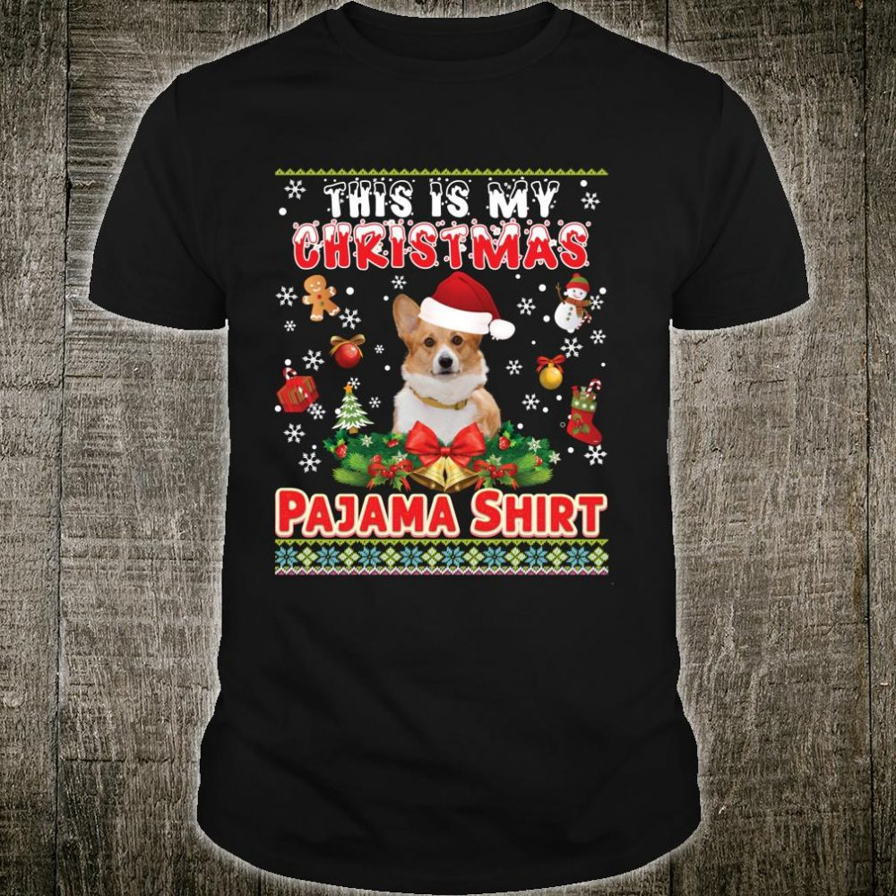 This Is My Christmas Pajama Welsh Corgi Dog Shirt