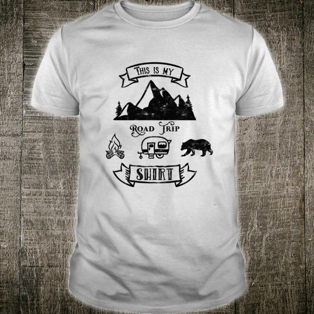 This is My Road Trip Dark Shirt