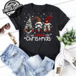 Three Gnomes In Red Christmas I'll be Gnome for Christmas shirt