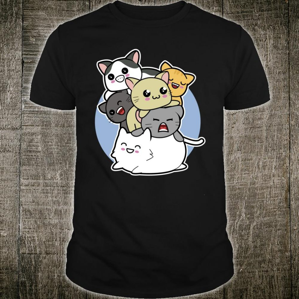Time to Go Meowtain Climbing Kawaii Cat Shirt