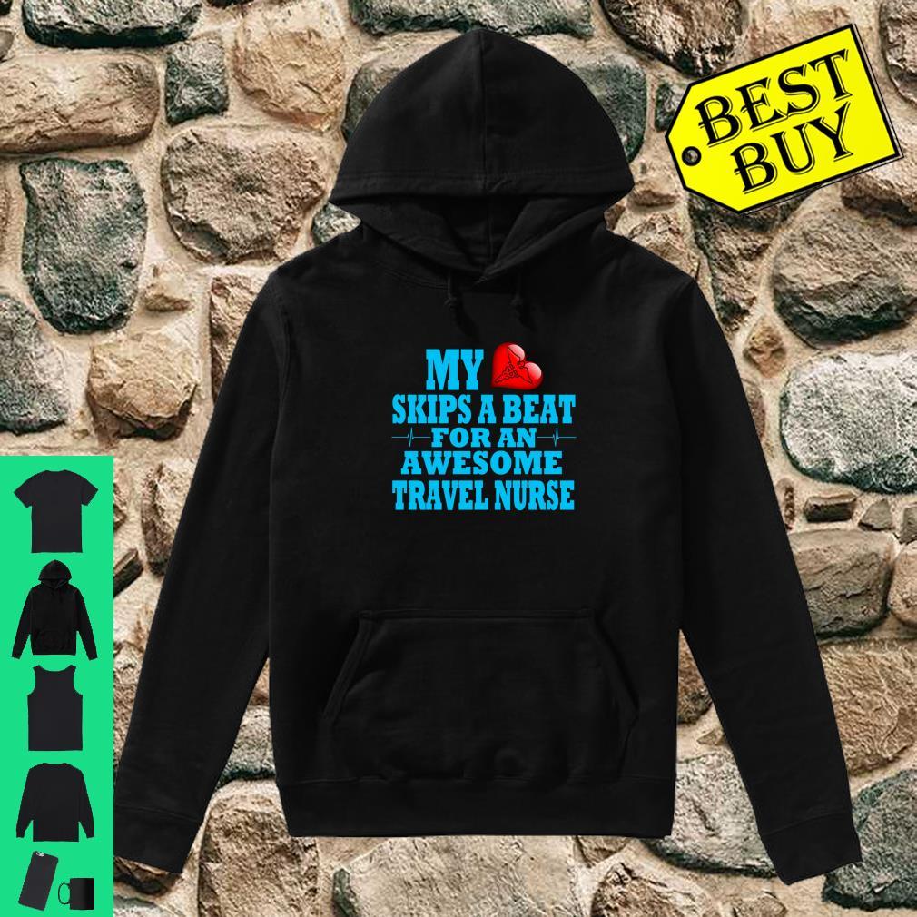 Travel Nurse Valentines LPN RN Nurse In Home Care Loved One shirt hoodie