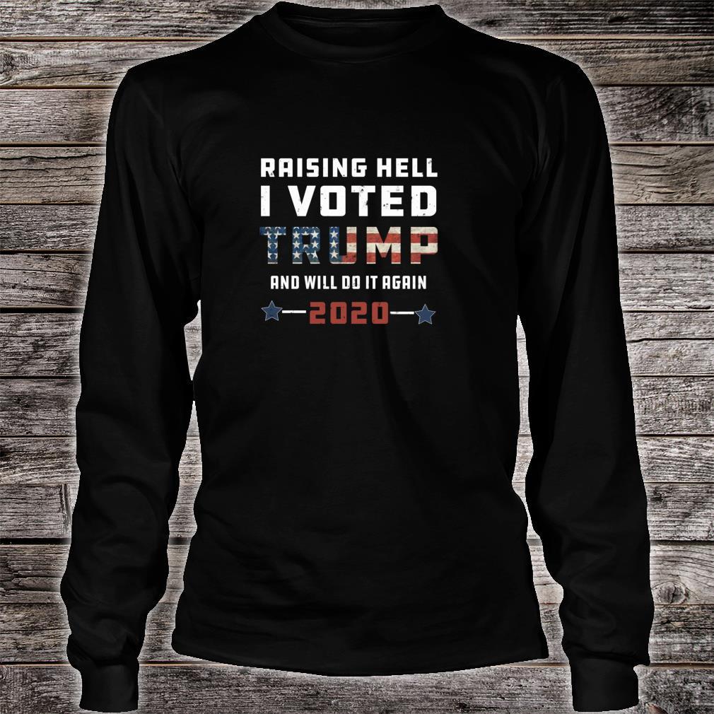 Donald Trump USA Flag MAGA Youth T-shirt Casual Tee
