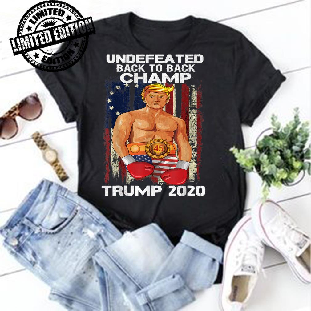 Trump 2020 as Rocky Boxing Meme Making Liberals Cry shirt