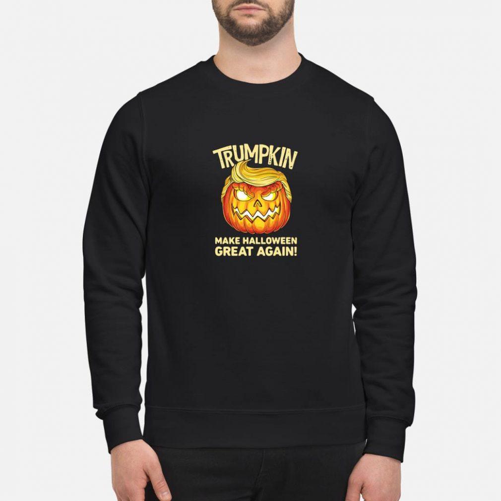 Trumpkin make halloween great again shirt sweater