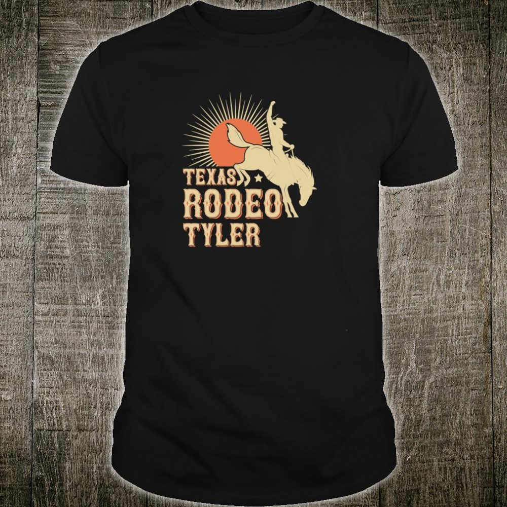 Tyler Texas Rodeo Vintage Western Retro Cowboy Shirt
