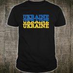 UKRAINE Ukrainian Flag Sportss Shirt