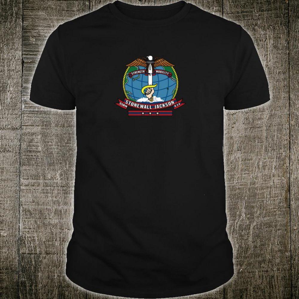 USS Stonewall Jackson SSBN634 Shirt
