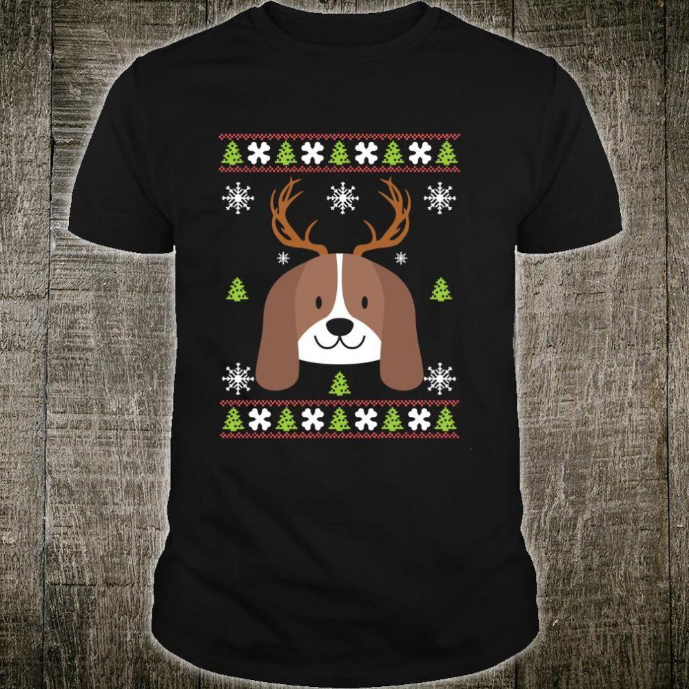 Ugly Christmas Beagle Shirt
