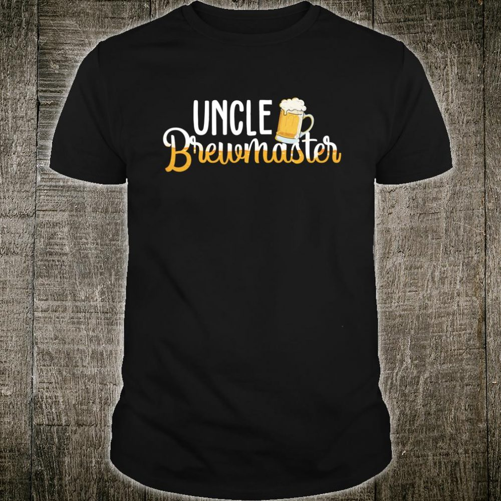 Uncle Brewmaster For Beer Brewers Brewmaster Outfit Shirt