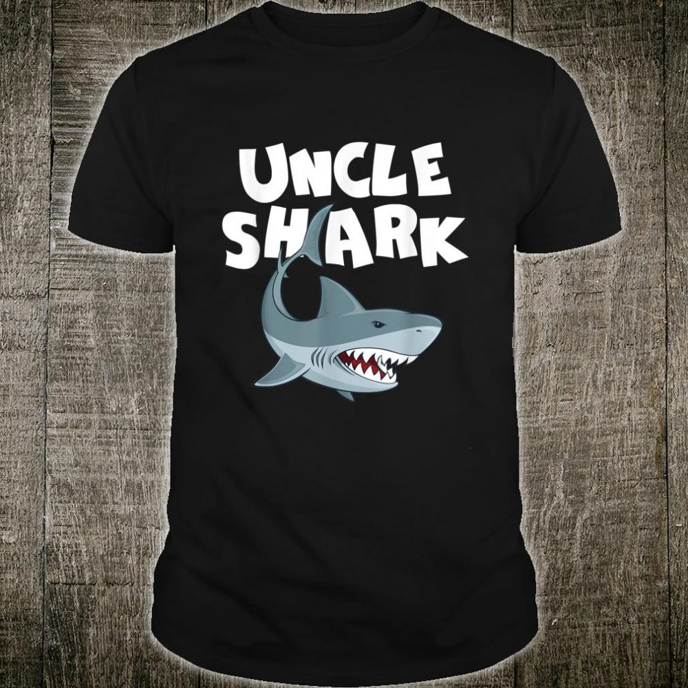 Uncle Shark Family Shark Father Day Mother Day Shirt