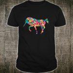 Unicorn Geometric Pattern Design Cute Shirt