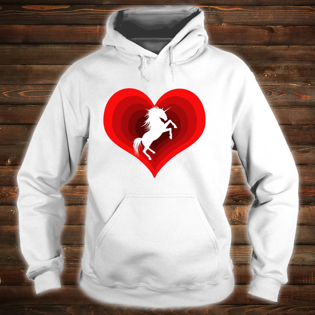 Unicorn Unicorns Unicorne Love Heart Shirt hoodie