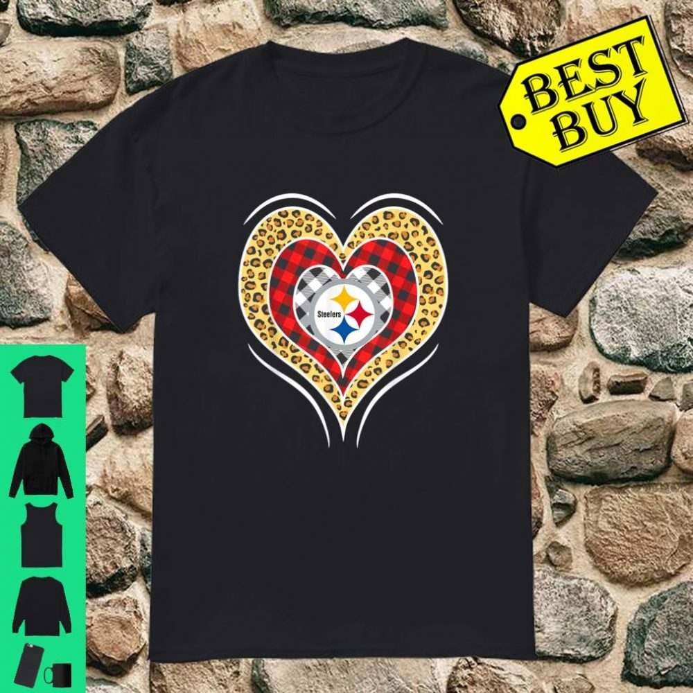 Valentine Football Triple Hearts Team pittsburghsteeler Shirt