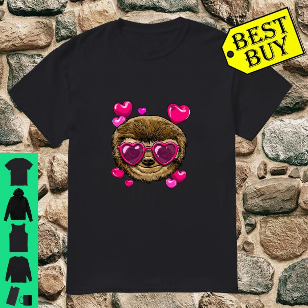 Valentines Day Sloth Shirt Sloth Gifts shirt