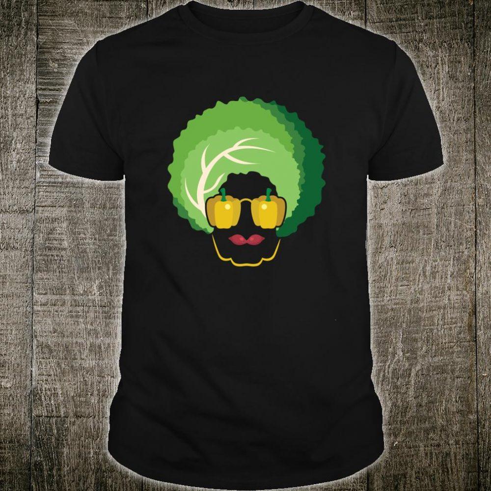 Vegan Afro Design Girls and Boys Shirt