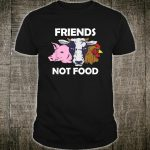 Vegan Animal Protect The Animals I Don't Eat My Homies Shirt