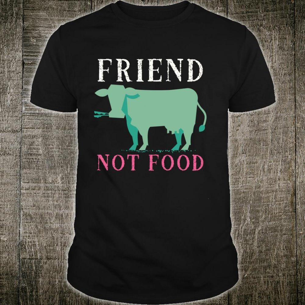 Vegan, Plant Based, Animal, Cow Pop Art Shirt