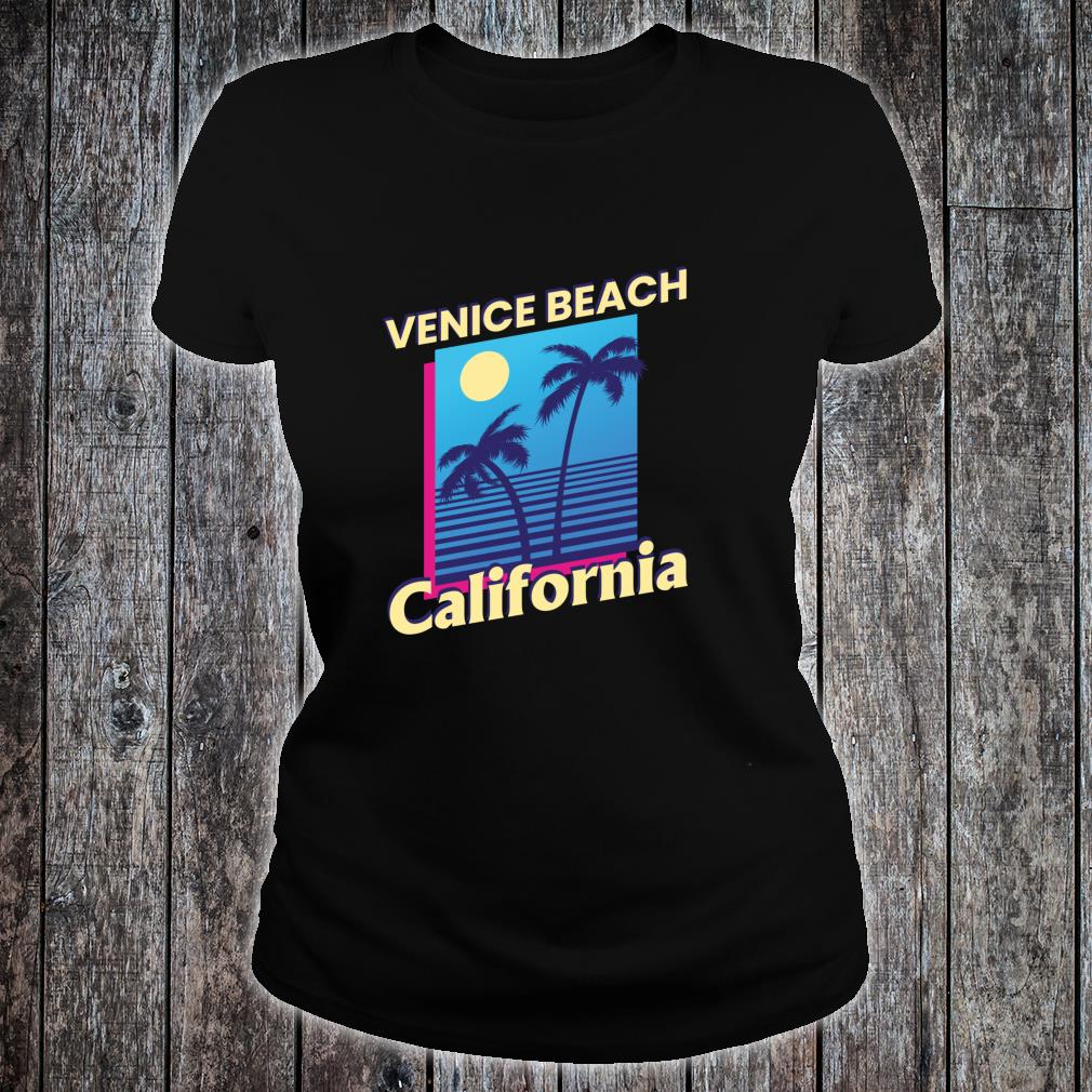 Venice Beach California Summer Family Vacation Shirt ladies tee