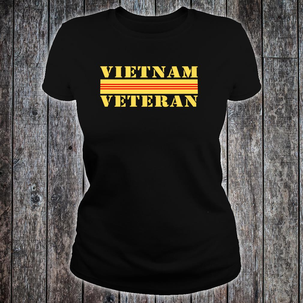 Veteran 365 Vietnam Veteran Shirt ladies tee