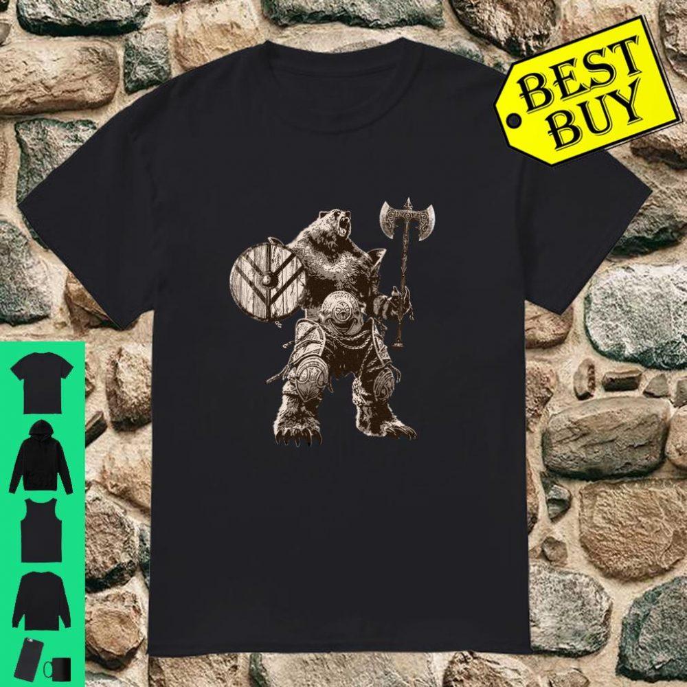 Viking Bear Warrior Odin Berserker Vikings Myths shirt