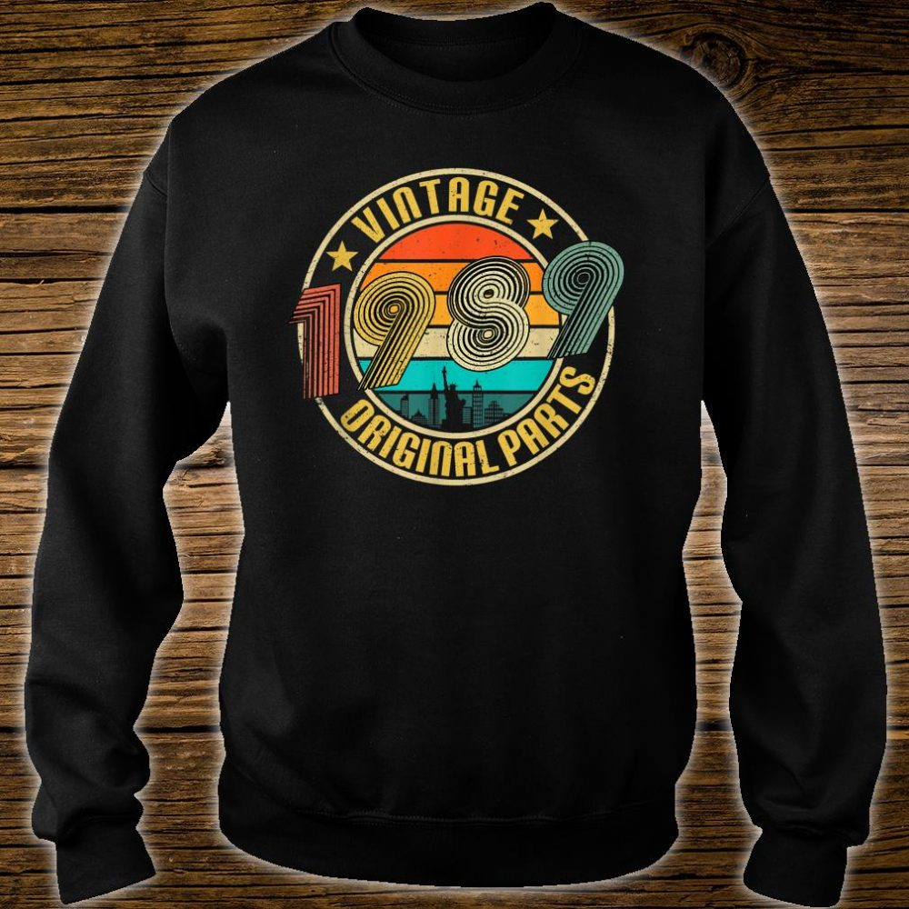 Vintage 1989 Original Parts 31th Birthday Shirt sweater