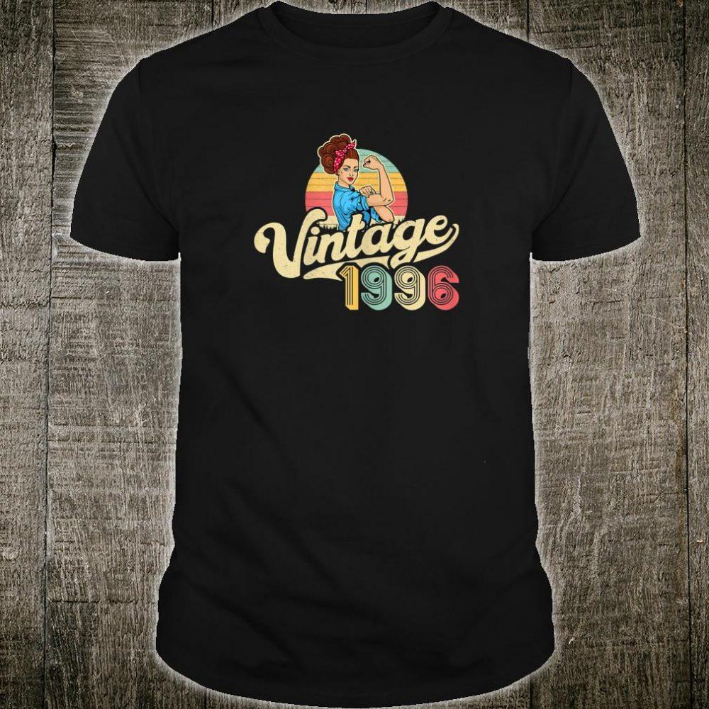 Vintage 1996 24 years old 24th Birthday Shirt