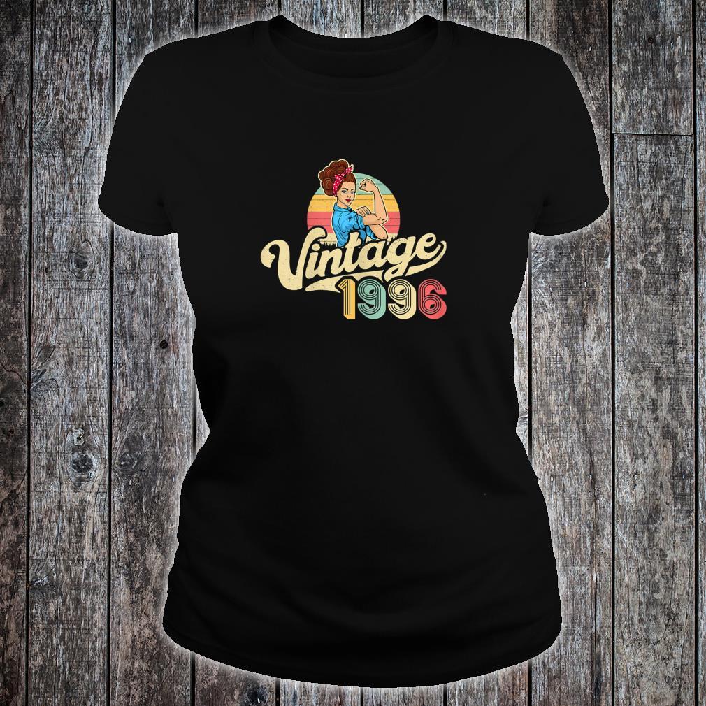 Vintage 1996 24 years old 24th Birthday Shirt ladies tee