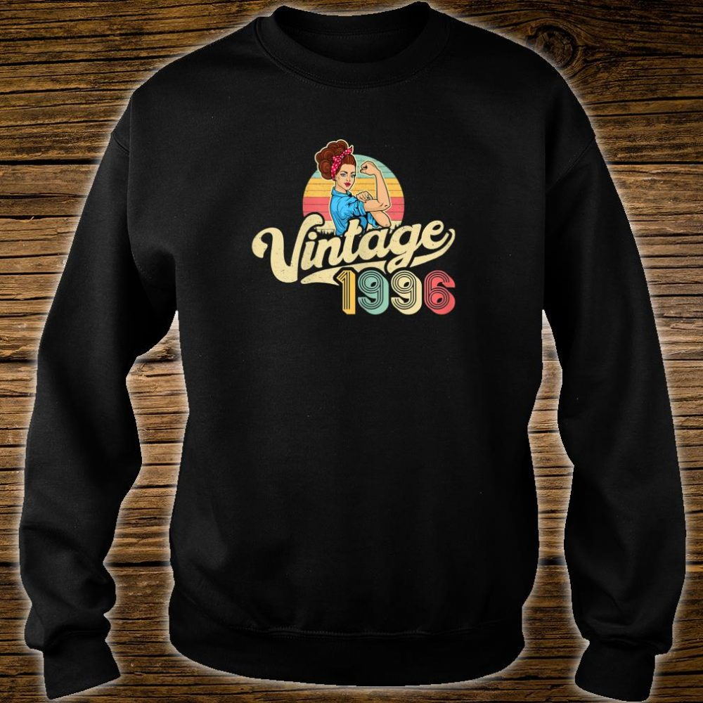Vintage 1996 24 years old 24th Birthday Shirt sweater